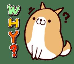 lazy shiba vol.2(English) sticker #4046390