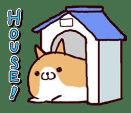 lazy shiba vol.2(English) sticker #4046392