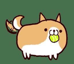 lazy shiba vol.2(English) sticker #4046395