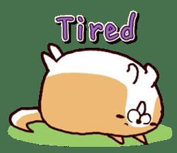lazy shiba vol.2(English) sticker #4046396