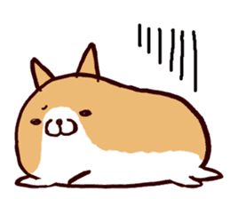 lazy shiba vol.2(English) sticker #4046401
