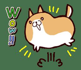 lazy shiba vol.2(English) sticker #4046405