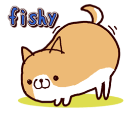 lazy shiba vol.2(English) sticker #4046406