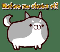 lazy shiba vol.2(English) sticker #4046408