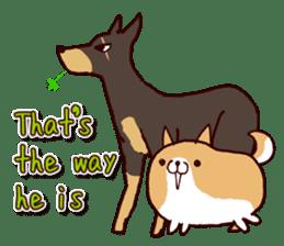 lazy shiba vol.2(English) sticker #4046409
