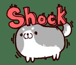 lazy shiba vol.2(English) sticker #4046417