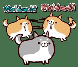 lazy shiba vol.2(English) sticker #4046421