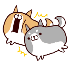 lazy shiba vol.2(English) sticker #4046422