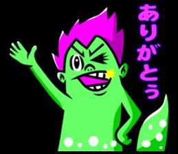 """Mysterious creatures""""nururun""""Sticker sticker #4054307"""