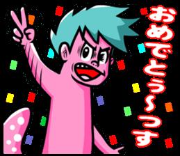 """Mysterious creatures""""nururun""""Sticker sticker #4054309"""