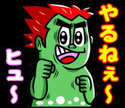 """Mysterious creatures""""nururun""""Sticker sticker #4054320"""