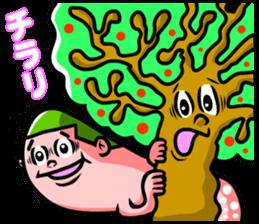 """Mysterious creatures""""nururun""""Sticker sticker #4054325"""