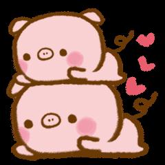 love twin pig