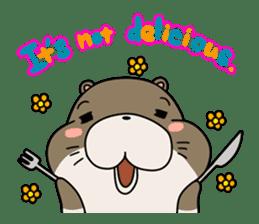 Otter Boy English ver. sticker #4057099