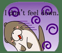 Otter Boy English ver. sticker #4057105
