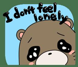 Otter Boy English ver. sticker #4057112
