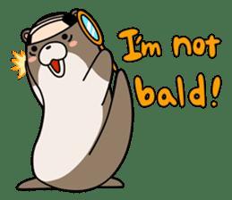 Otter Boy English ver. sticker #4057113