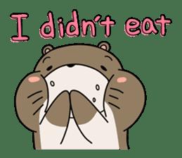 Otter Boy English ver. sticker #4057122