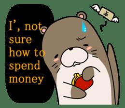Otter Boy English ver. sticker #4057130