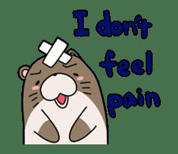 Otter Boy English ver. sticker #4057132