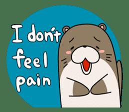 Otter Boy English ver. sticker #4057133