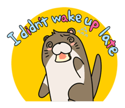Otter Boy English ver. sticker #4057134
