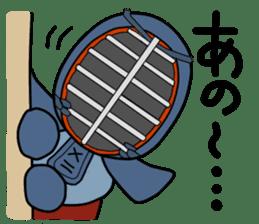 KENDO Samurai Boy 2 sticker #4061896