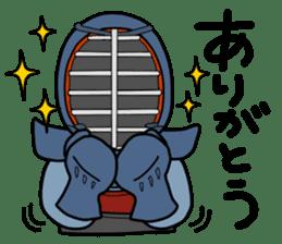 KENDO Samurai Boy 2 sticker #4061897
