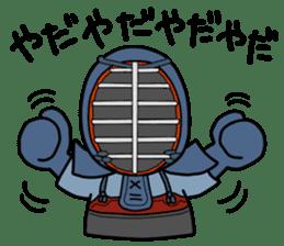 KENDO Samurai Boy 2 sticker #4061899