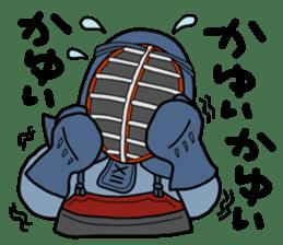 KENDO Samurai Boy 2 sticker #4061901