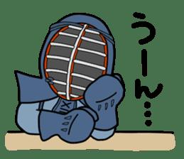 KENDO Samurai Boy 2 sticker #4061902