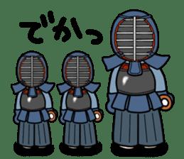 KENDO Samurai Boy 2 sticker #4061910