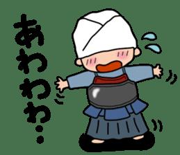 KENDO Samurai Boy 2 sticker #4061918