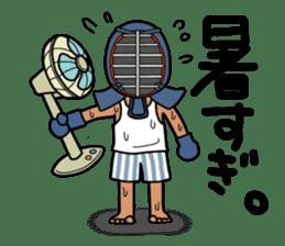 KENDO Samurai Boy 2 sticker #4061925