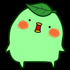 """Green tea fairy """"Ochappoi""""."""