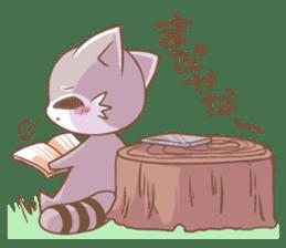 LOVE!Raccoons&Rabbit 2 sticker #4065640