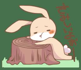 LOVE!Raccoons&Rabbit 2 sticker #4065644
