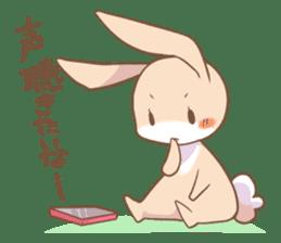LOVE!Raccoons&Rabbit 2 sticker #4065646