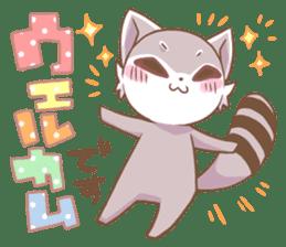 LOVE!Raccoons&Rabbit 2 sticker #4065648