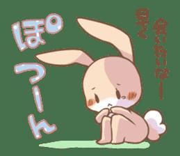 LOVE!Raccoons&Rabbit 2 sticker #4065652
