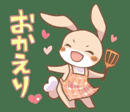 LOVE!Raccoons&Rabbit 2 sticker #4065653