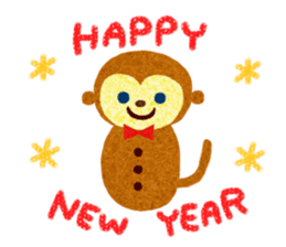 Xmas&NewYear2016 sticker #4070708