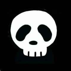 Skull life Sticker