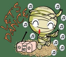 The Mummy - (EN) sticker #4081937