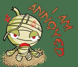 The Mummy - (EN) sticker #4081938
