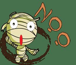 The Mummy - (EN) sticker #4081942
