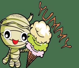 The Mummy - (EN) sticker #4081953