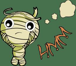 The Mummy - (EN) sticker #4081960