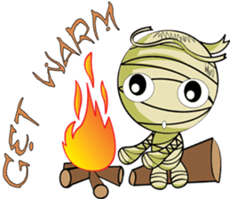 The Mummy - (EN) sticker #4081974