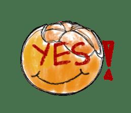 Zombie Orange Apocalypse sticker #4082225